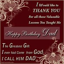 happy birthday i would like to thank you for all those