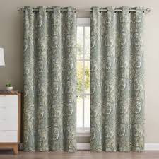 Coral Blackout Curtains Damask Curtains U0026 Drapes You U0027ll Love Wayfair