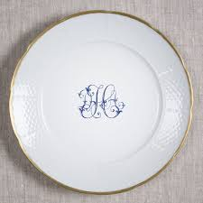 monogrammed plate 43 best place settings images on wedding