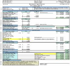 template performance action plan sample u for excel templates