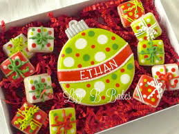 lizy b my favorite personalized christmas cookies
