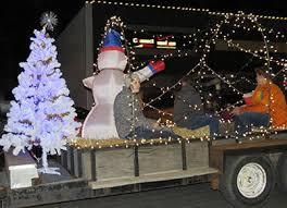 christmas light parade floats albion s christmas light parade was bigger better albion news online