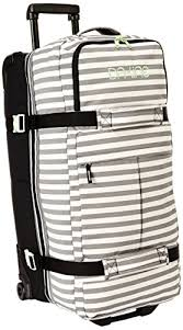 amazon black friday travel dakine women u0027s split roller bag regatta stripes 100 liter dakine