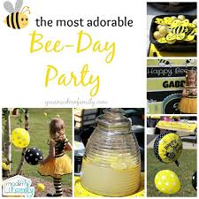 bumble bee party favors bee day party birthday party theme that you will your