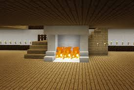 minecraft staircase and fireplace wrap around stairs minecraft