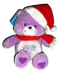 care bears purple share bear holiday talking plush stuffed animal