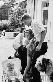 bobby with niece caroline and son christopher kennedy the