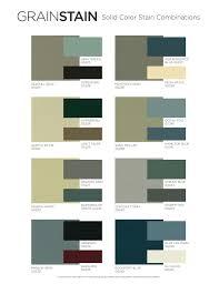exterior stain planner color chart color center diamond vogel