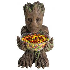 groot guardians of the galaxy candy bowl halloween party decor