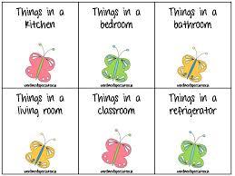 Things In A Bedroom Word Nerd Speech Teach All Things Butterflies