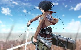Mikasa by 5 Facts About Mikasa Ackerman From Shingeki No Kyojin Attack On
