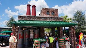 Universal Orlando Map Duff Brewery Limited Service Bar At Universal Studios Florida