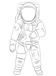 30 astronaut coloring pages coloringstar