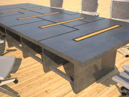 Modular Conference Table Concrete Conference Table Modular Thumb Designs By Rudy
