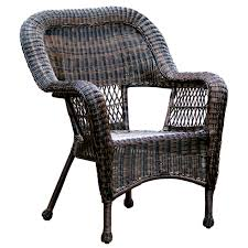 Patio Furniture At Home Depot - dark brown wicker chair at home at home