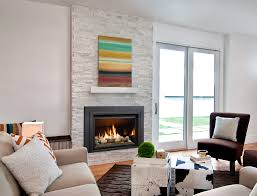 gorgeous painted brick fireplaces decorating and design blog add
