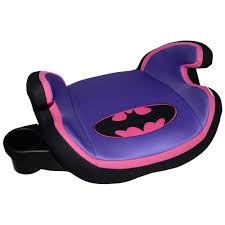 pink kid car batgirl no back car booster seat cover car accessories