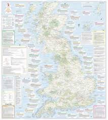 Stanford Maps Ultimate Adventure Map Of Britain Stanfords