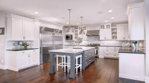 pictures of white kitchen cabinets with island white kitchen cabinets with grey island