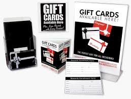 gift card display gift card programs mainstream merchant services