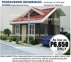 terraverde residences house along governor u0027s drive bancal carmona