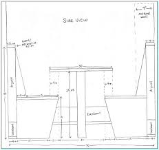 Laundry Bench Height Beautiful Typical Bench Depth Part 1 Dimensions Ana White