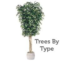 artificial trees trees silk trees faux trees