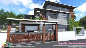 2200 square foot house 2200 sq ft house in a 4 cent narrow plot homes design plans