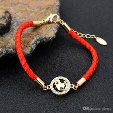 design charm bracelet images 2017 new design red rope bangles fashion women men 18k gold plated jpg