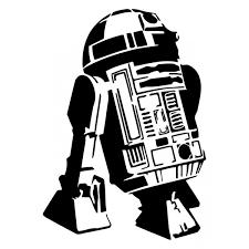 d2 star wars robot wall art sticker decal picture
