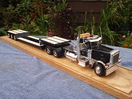 build a volvo truck outstanding build of a set of 379 conventional with lowboy and