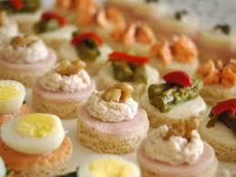site de canape recetas con gusto surtido de canapés
