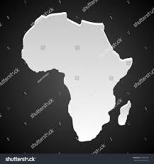 3d africa map vector map africa stock vector 187581494