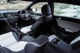 kia sportage 2017 interior kia sportage estate 2016 driving u0026 performance parkers