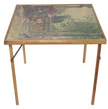how big is a card table how to recover a card table and chairs with vinyl fabric hunker
