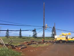 lanai pictures power restored on lanai after weekend winds triggered island wide