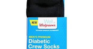 Walgreens Socks Walgreens Diabetic Crew Socks Men U0027s Premium 7 12 2 Ea Premium