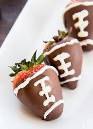 covered strawberries chocolate covered strawberry footballs like like