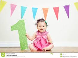 baby girl birthday baby girl s birthday party stock images image 8416774
