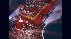 santas sleigh lands on roof of house stock footage video getty