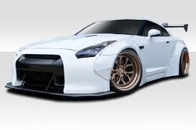 nissan gtr with your coin money fit 2009 2017 gt r r35 duraflex lbw wide body kit 8 piece body