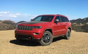 jeep grand cherokee rear bumper 2017 jeep grand cherokee trailhawk v 6 test u2013 review u2013 car and driver