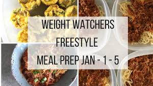 cuisine weight watchers weight watchers freestyle meal prep 12 31 17 recipe diaries