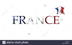 Country Flag Images National Flag Of France Waving In The Wind With French Map And