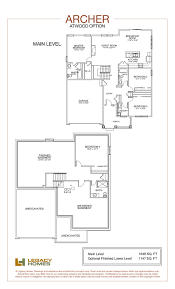 archer floor plan legacy homes omaha and lincoln