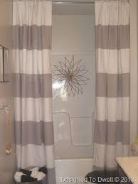 See Through Shower Curtain Best 25 Double Shower Curtain Ideas On Pinterest Double Shower