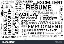 Words Resume Template Resume Words