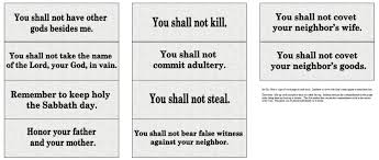 coloring pages the catholic toolbox ten commandments activities