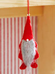 Better Homes And Gardens Christmas Crafts - make a cute gnome christmas ornament from better homes and gardens