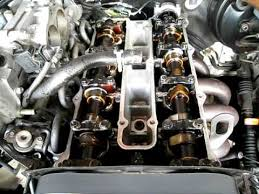 kia sportage engine turning ove with valve cover off youtube